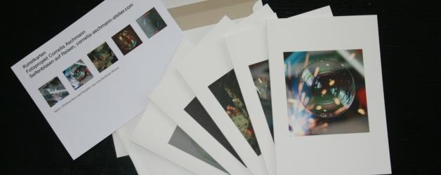 Geschenk-Set Kunstkarten