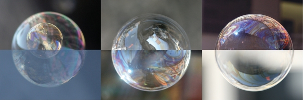 «Rennweg» ist eine Fotografie-Kombination aus «Seifenblasen auf Reisen» von Cornelia Aschmann