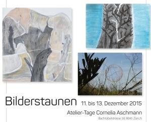 Bilderstaunen - Atelier-Tage bei Cornelia Aschmann 2015