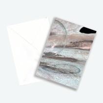 """Kunstkarte Edition Nr 3 aus Fotoprojekt Cornelia Aschmann """"Seifenblasen auf Reisen"""""""