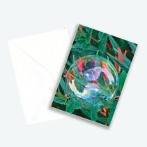 """Kunstkarte Edition 2016 aus Fotoprojekt Cornelia Aschmann """"Seifenblasen auf Reisen"""", Sujet 2"""