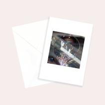 Kunstkarte Seifenblase
