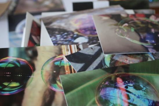 Seifenblasen-Fotos