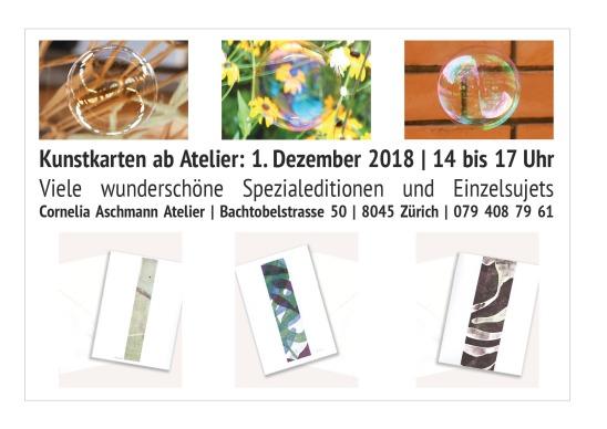 Verkauf Kunstkarten 2018